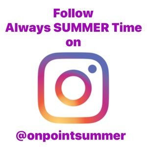 Follow Me on Instagram @onpointsummer